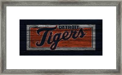 Detroit Tigers Framed Print by Joe Hamilton