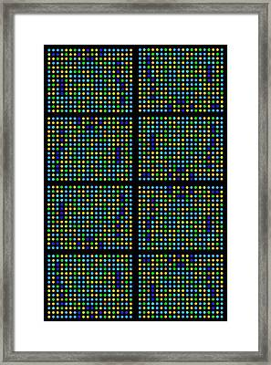 Genetic Research Framed Print