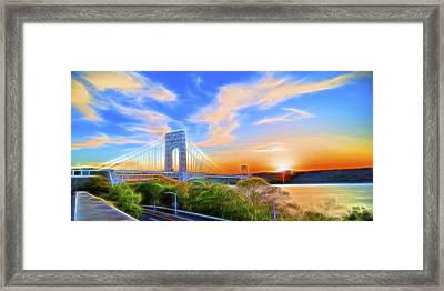 Framed Print featuring the photograph Sunset Dream by Theodore Jones