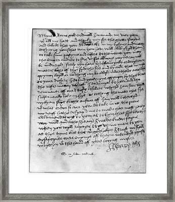 Henry Viii (1491-1547) Framed Print
