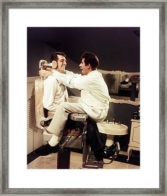 Jerry Lewis Framed Print by Silver Screen