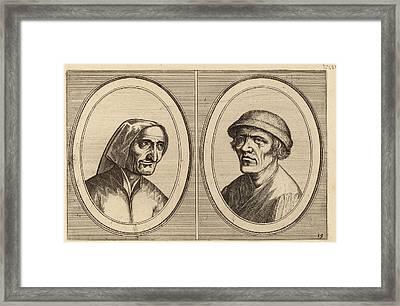 Johannes And Lucas Van Doetechum After Pieter Bruegel Framed Print by Quint Lox