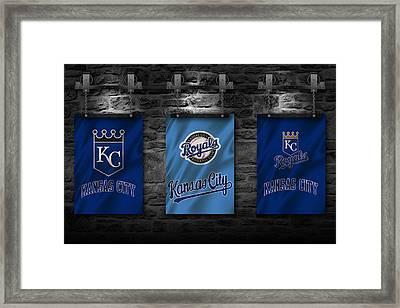 Kansas City Royals Framed Print