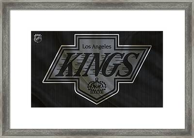 Los Angeles Kings Framed Print by Joe Hamilton