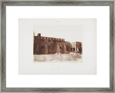 Photograph Of The Egyptian Landscape Framed Print