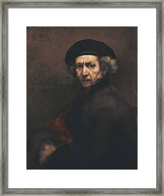 Rembrandt, Harmenszoon Van Rijn, Called Framed Print by Everett