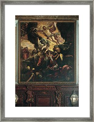 Robusti Jacopo Known As Tintoretto, The Framed Print by Everett