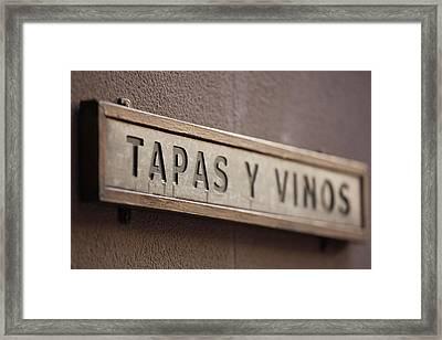 Spain, Aragon Region, Zaragoza Framed Print