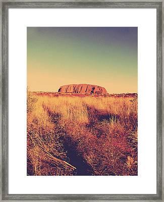 Uluru Framed Print by Girish J