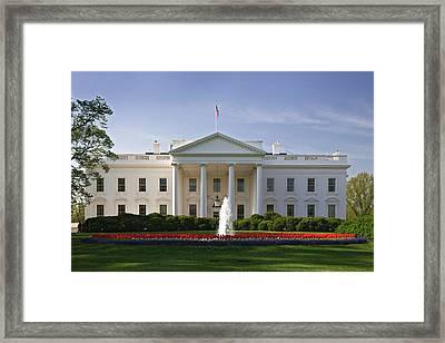 Usa, Washington, D Framed Print by Jaynes Gallery