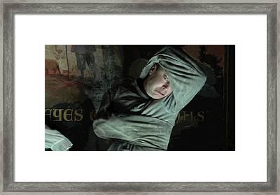 Wax Framed Print by Jonathan Harnisch