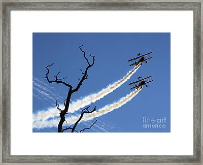 Wingwalkers Framed Print by Angel  Tarantella