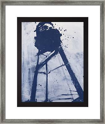 Water Tower 06 Framed Print