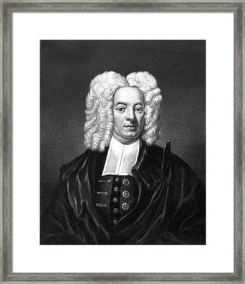 1600s Cotton Mather New England Puritan Framed Print