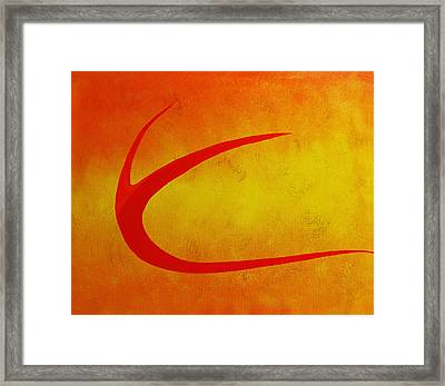 161 'fendabstract' Framed Print by Gregory Otvos