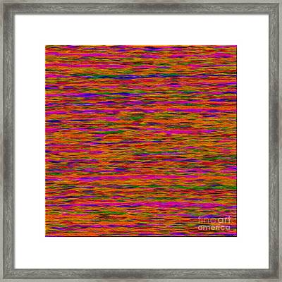 1614 Abstract Thought Framed Print