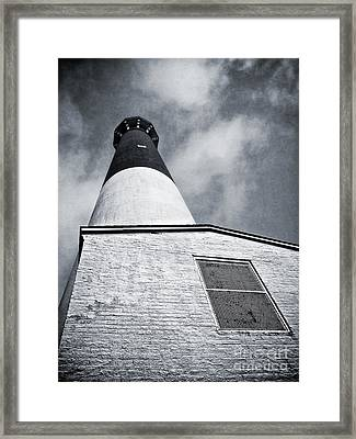 163 Feet Into The Clouds Framed Print by Mark Miller