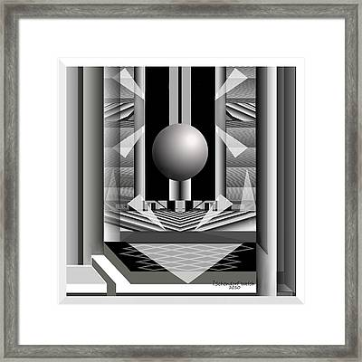 164 A Domicile  Scurrile  2  Framed Print