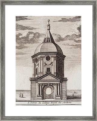 1677 Royal College Of Physicians Framed Print by Paul D Stewart