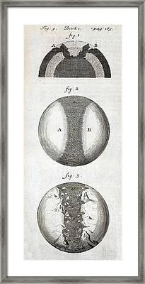 1684 Thomas Burnet Continental Drift Framed Print by Paul D Stewart