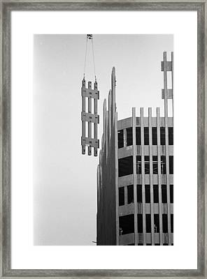 #169 Raising Steel Framed Print