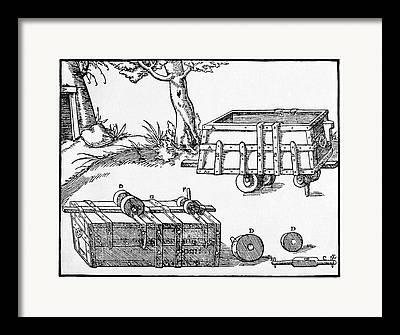 Georgius Agricola Framed Prints