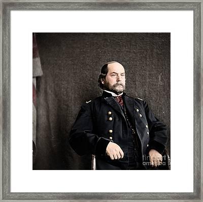 16th Quarter Master General And Brevet Major General Framed Print by Celestial Images