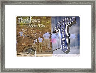 16th Street Baptist Church Framed Print by Davina Washington