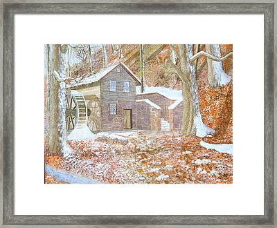 17 Centry Ghrist Mill Framed Print by Jim Ivey