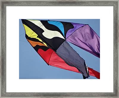 Children Are Like Kites. Framed Print