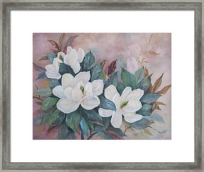 Flowers Of The South Framed Print