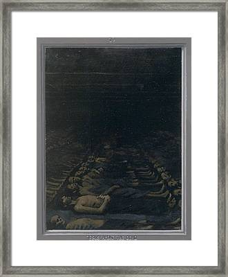 17. Jesus Among The Dead / From The Passion Of Christ - A Gay Vision Framed Print by Douglas Blanchard