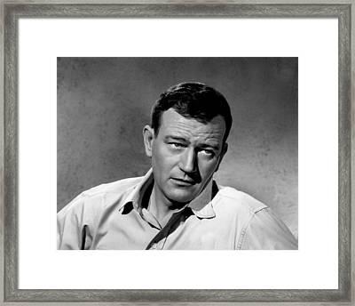 John Wayne Framed Print