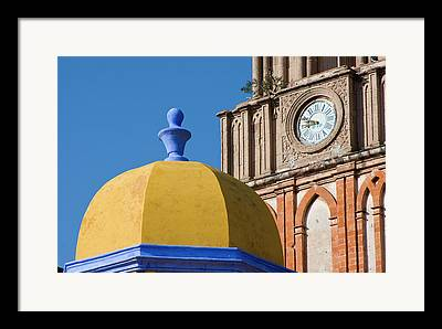 San Rafael Church Framed Prints
