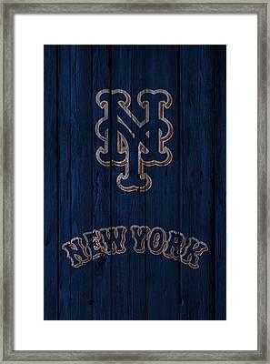 New York Mets Framed Print