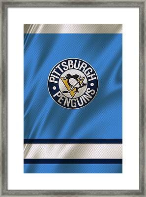 Pittsburgh Penguins Framed Print by Joe Hamilton