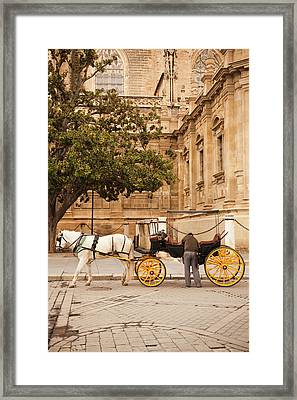 Spain, Andalucia Region, Seville Framed Print by Walter Bibikow