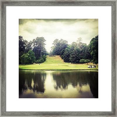 #17 The Bluffs #golf #iphone5 Framed Print