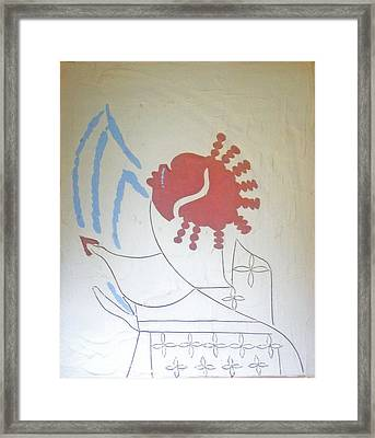 The Wise Virgin Framed Print by Gloria Ssali