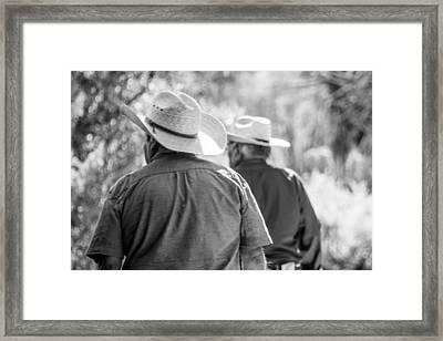Whispers Framed Print