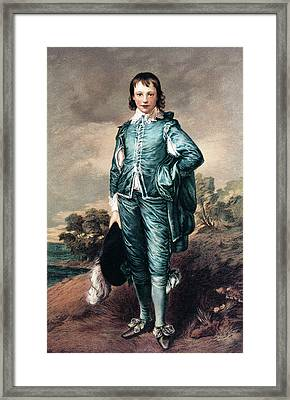 1700s The Blue Boy Oil Painting Framed Print