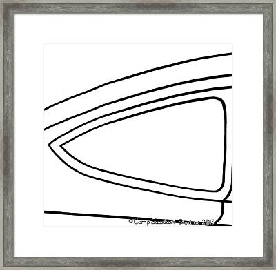 171-2-ls  '34 Pastels' Framed Print by Gregory Otvos