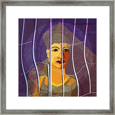 173 - Outlook Framed Print by Irmgard Schoendorf Welch
