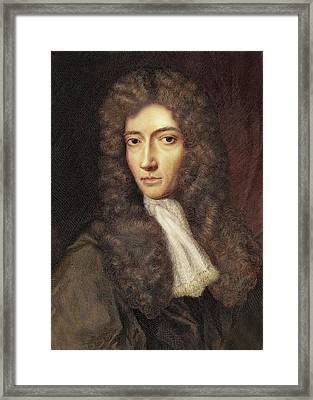 1739 Robert Boyle Portrait Colour Framed Print by Paul D Stewart