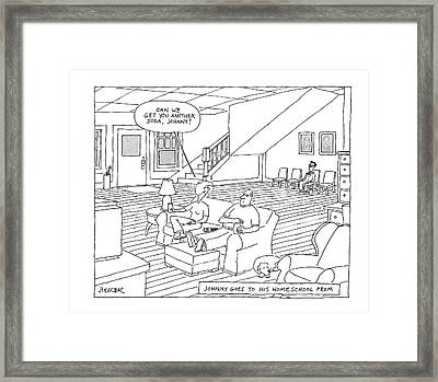 New Yorker May 26th, 2008 Framed Print by Jack Ziegler