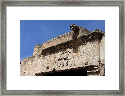 Framed Print featuring the photograph 1796 by Lew Davis