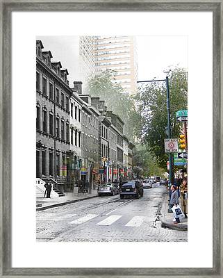 17th And Walnut Street Framed Print