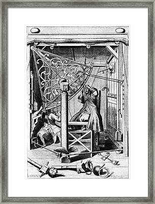 17th Century Astronomers Framed Print