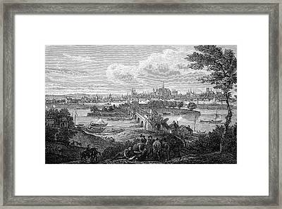 17th Century Orleans Framed Print by Bildagentur-online/tschanz