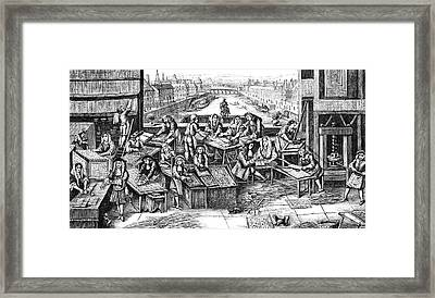 17th Century Playing Cards Factory Framed Print